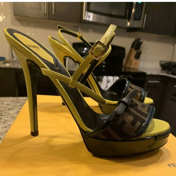 Fendi Shoes - Fendi High Heels size 37.5
